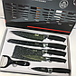 BASS набор ножей (с силиконовой ручкой), 6 предметов, фото 3