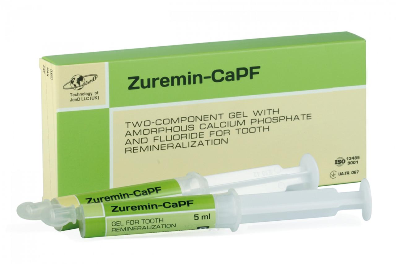 Зуремин-CaPF (Zuremin) гель для реминерализации зубов