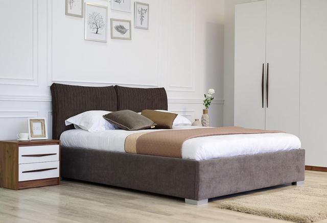 Кровать двуспальная Меланж (Embawood) 2