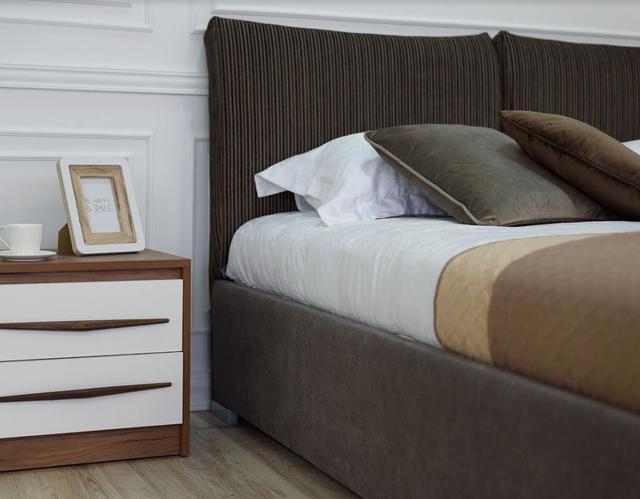 Кровать двуспальная Меланж (Embawood) изголовье