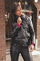 Куртка женская с лаковым блеском S,M,L,XL,2XL,3XLXL,5XL,6XL