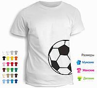 Футболка Black & White футбольный мяч