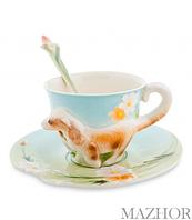 """Чайная пара """"Спаниель"""" (Pavone) 105923"""