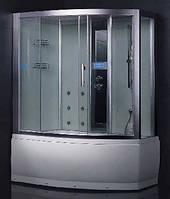 Гидромассажный паровой бокс с ванной EAGO DA328F3 (правый/левый), 1500х1000х2220 мм