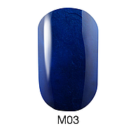 Гель-лак Naomi Metallic Collection M03, 6 мл