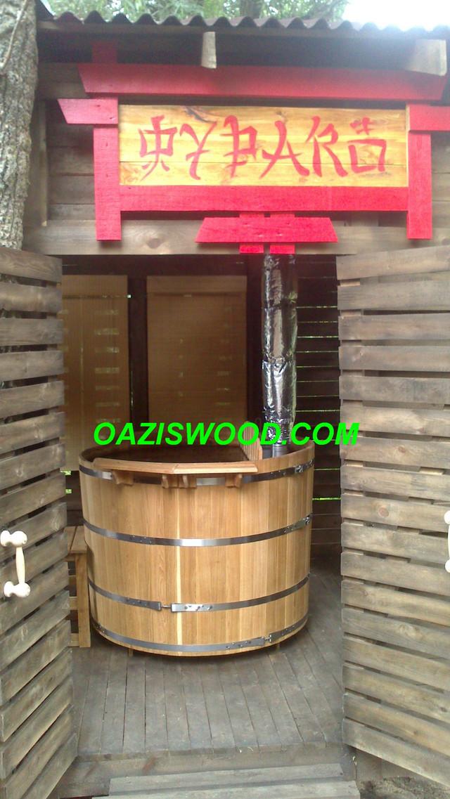 Офуро, фурако, японская баня в Чернигове