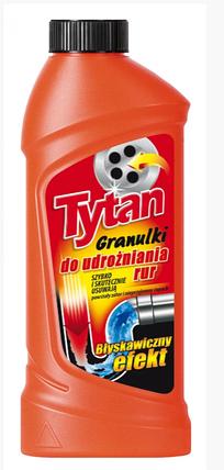 Гранулированное средство для чистки труб Tytan, фото 2