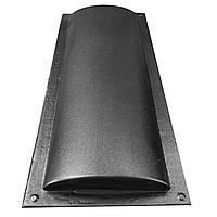 """Форма для парапета на забор """"Круглый"""" 180*500*35 мм; для литья бетонных коньков на забор, фото 1"""
