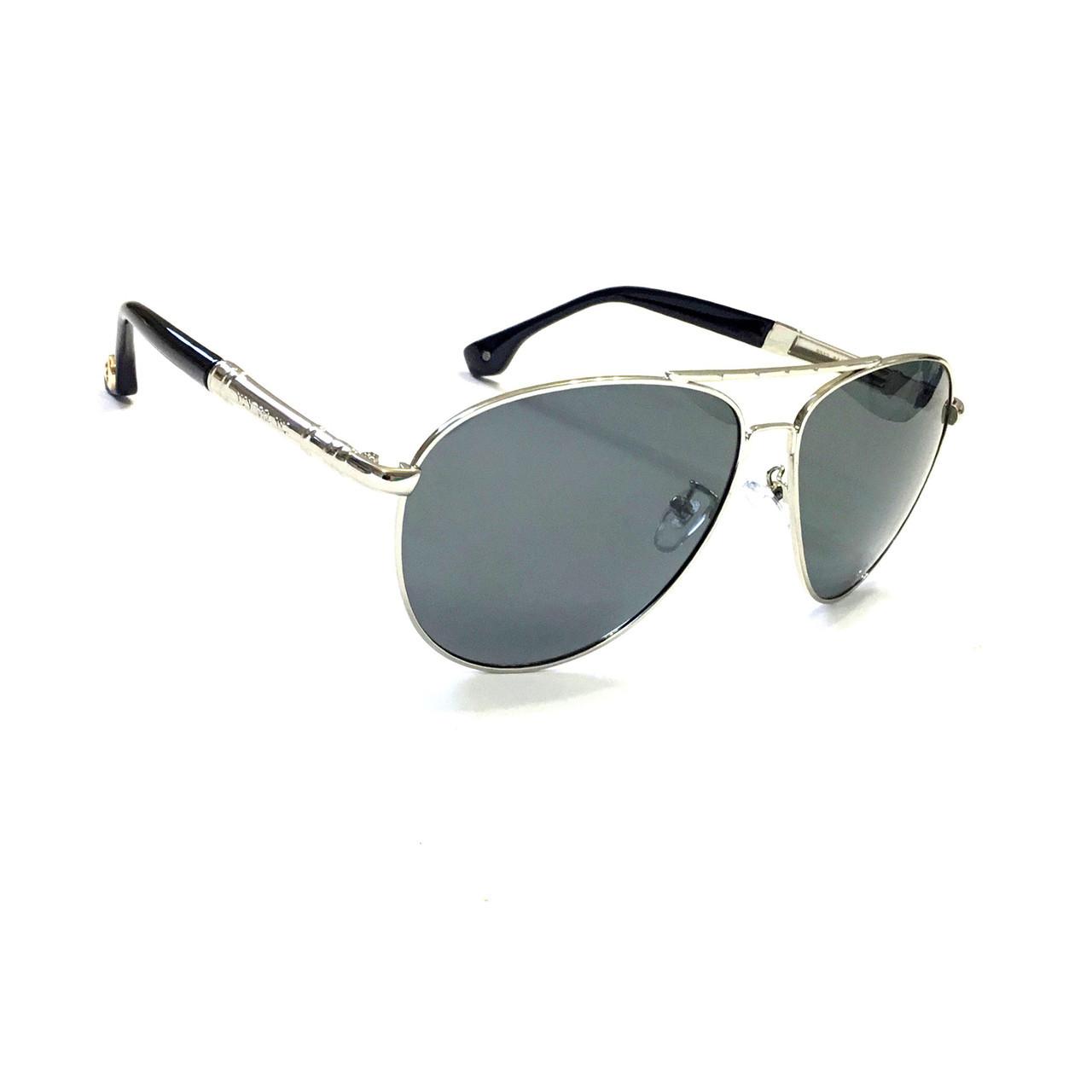 Мужские солнцезащитные очки с полароидной линзой MontBlanc