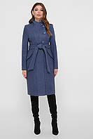 Женское демисезонное пальто с воротником стойка   рр 42-48