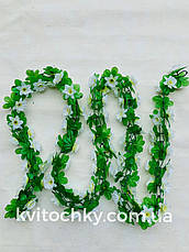 Искусственная лиана.Лиана цветочная 2,5 м, фото 2