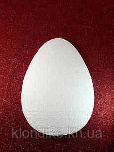 """Заготовка пенопластовая """"Яйцо плоское"""", длина: 10 см, толщина: 2 см"""