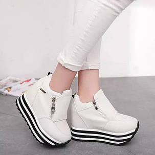 Женские кроссовки на  платформе , фото 2