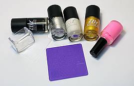 Набор для стемпинг дизайна ногтей универсальный №3