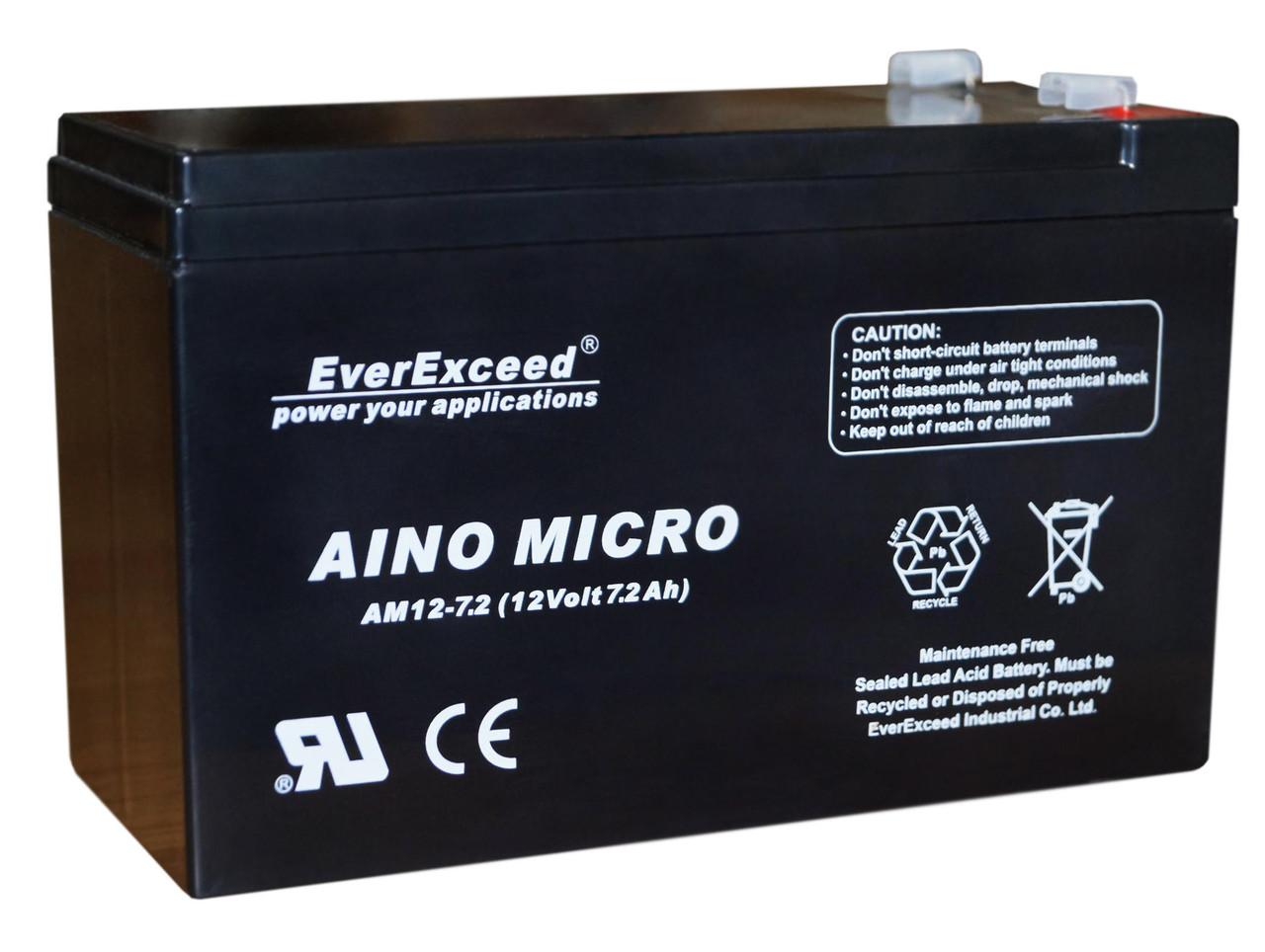 Аккумулятор EverExceed AM 12-7.2