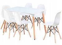 Кухонный стол и 6 стульев MUF-ART