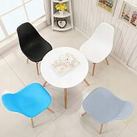 Кухонный стол 80cm и 4 стулья белые AURORA