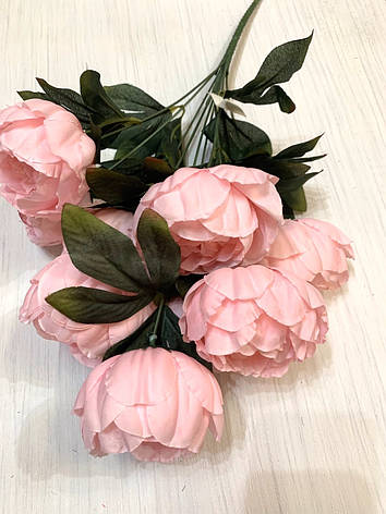 Пион декоративный розовый., фото 2