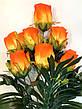Искусственная роза.Букет крупных бутонов роз., фото 2