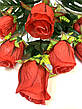 Искусственная роза.Букет крупных бутонов роз., фото 4