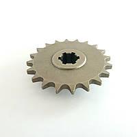 Звезда ведущая передняя 20 зубов для мини-байка, мини кросс -байка ,Pocket bike 49 куб.см.