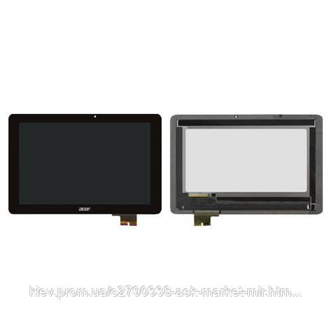 Дисплей для Acer Iconia Tab A700 Original Black с сенсором, фото 2