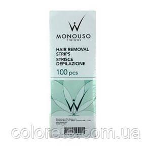 Ital Wax Бумага для депиляции в полосках, 100 шт.