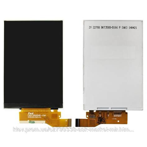 Дисплей для Alcatel One Touch 4007D Pixi, One Touch 4014D Pixi 2, One Touch 4015D POP C1 Dual Sim, One Touch 4018D POP D1 Original 25 pin, фото 2