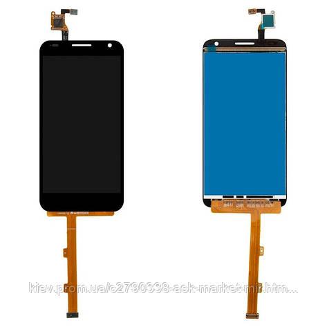Дисплей для Alcatel One Touch 6036Y Idol 2 Mini S Original Black с сенсором, фото 2