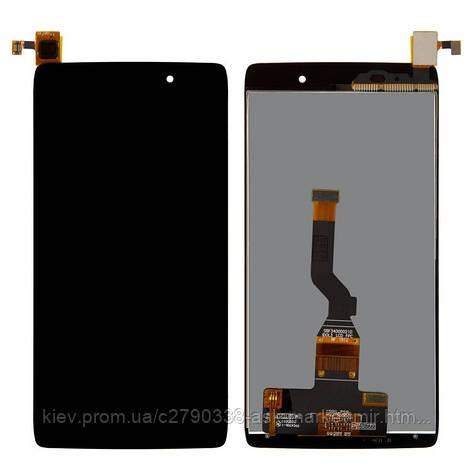Дисплей для Alcatel One Touch 6039Y Idol 3 mini LTE Original Black с сенсором, фото 2