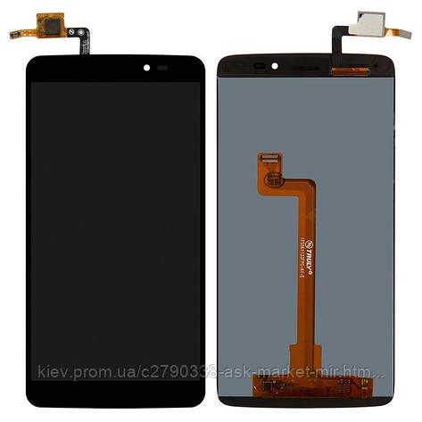 Дисплей для Alcatel One Touch 6045I Idol 3 Original Black с сенсором, фото 2