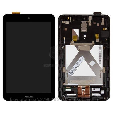Дисплей для Asus MeMO Pad 8 ME180A K00L Original Black с сенсором и рамкой, фото 2