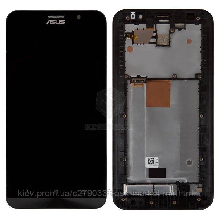 Оригинальный дисплей с сенсором и рамкой для Asus ZenFone 2 ZE551ML