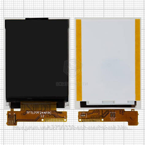 Дисплей для Fly DS103D #TFT177F244FPC VER01/H0901077065-A01/H0901077012-AK2, фото 2
