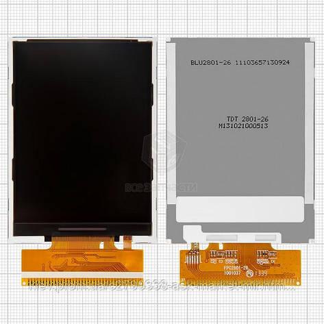 Дисплей для Fly DS128 Original #N401-D17000-000/FPC2801-26, фото 2