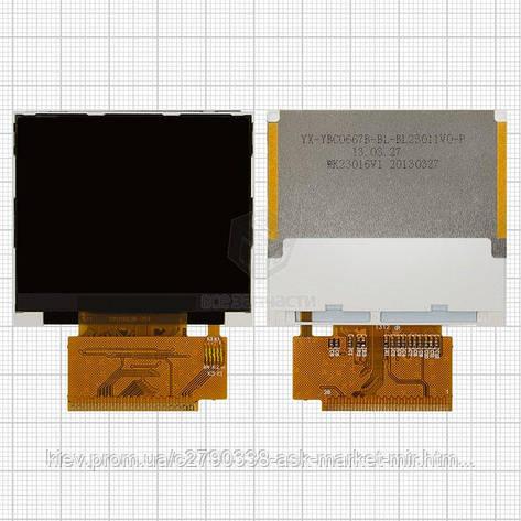 Дисплей для Fly Ezzy 4 Original 38 pin #1.02.00027.00BL/YBC0667B-BL23011V0-WK23016V1, фото 2