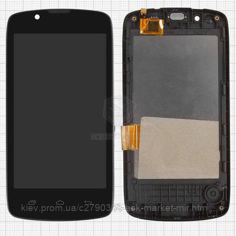 Дисплей для Fly IQ4490 ERA Nano 4 Original Black з сенсором #10.01.0237, фото 2