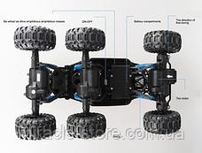 Большой джип на радиоуправлении внедорожник машинка вездеход на шести колесах, фото 3