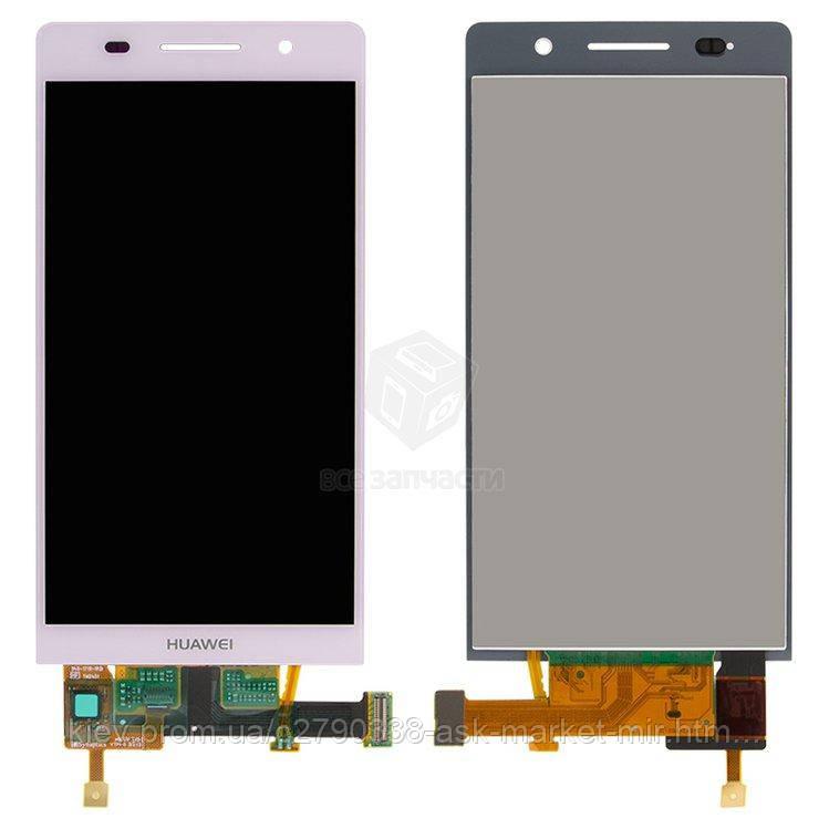 Оригинальный дисплей с сенсором для Huawei Ascend P6-U06