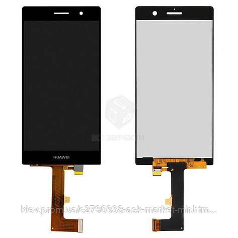 Дисплей для Huawei Ascend P7 (P7-L10, Sophia-L10) Original Black с сенсором, фото 2
