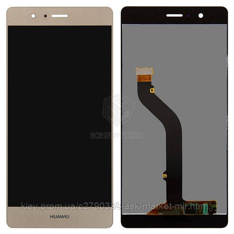 Дисплей для Huawei G9 Lite, P9 Lite (VNS-L21, VNS-L31) Original Gold с сенсором, фото 2