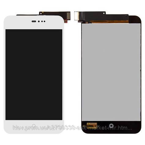 Дисплей для Meizu MX2 Original White с сенсором, фото 2
