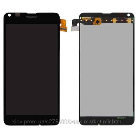 Дисплей для Microsoft Lumia 640 Dual SIM RM-1077 Original Black с сенсором, фото 2
