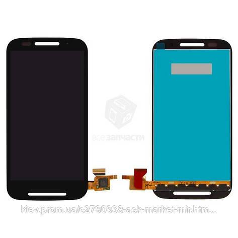 Дисплей для Motorola Moto E (XT1021, XT1022, XT1025) Original Black с сенсором, фото 2