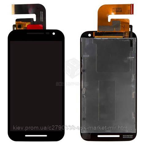 Дисплей для Motorola Moto G3 3nd Gen (XT1540, XT1541, XT1544, XT1548, XT1550) Original Black с сенсором, фото 2