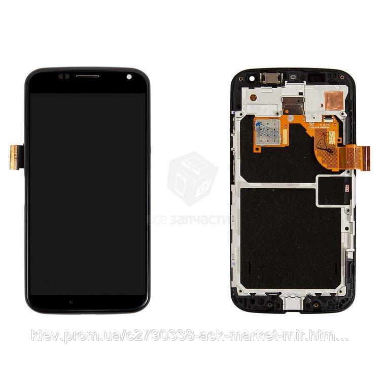 Оригинальный дисплей с сенсором и рамкой для Motorola Moto X (XT1052, XT1053, XT1055, XT1056, XT1058, XT1060)