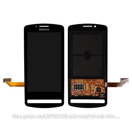 Дисплей для Nokia 700 RM-670 Original Black с сенсором, фото 2
