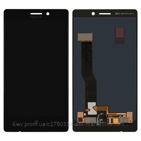 Дисплей для Nokia Lumia 925 Original Black с сенсором, фото 2