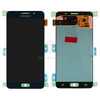Дисплей для Samsung Galaxy A5 2016 (A510F, A510M, A510Y), Galaxy A5 2016 (A5100, A510FD) Original Black с сенсором #GH97-18250B