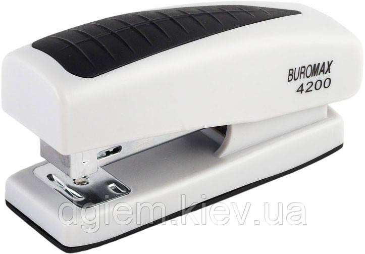 Степлер пластиковый BUROMAX 20л (скобы №24,26) ВМ.4200